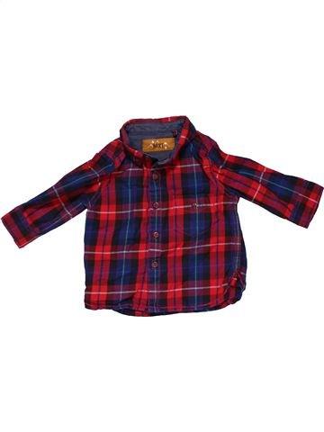 Long sleeve shirt boy NEXT brown 6 months winter #27889_1