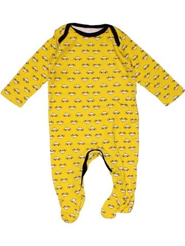 Long jumpsuit boy MINI CLUB yellow 6 months summer #27954_1