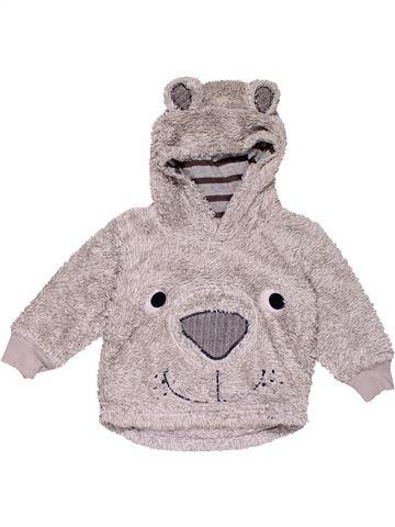 Sweatshirt boy NEXT gray 18 months winter #28025_1