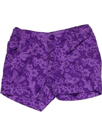 Short pants girl H&M purple 4 years summer #28076_1