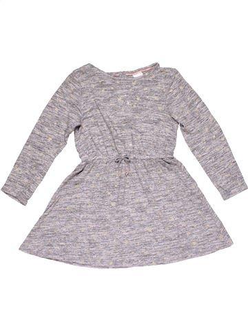 Dress girl PALOMINO gray 7 years summer #28101_1