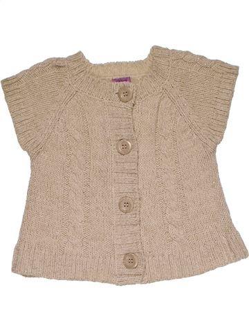 Sweatshirt girl F&F beige 3 years winter #28159_1