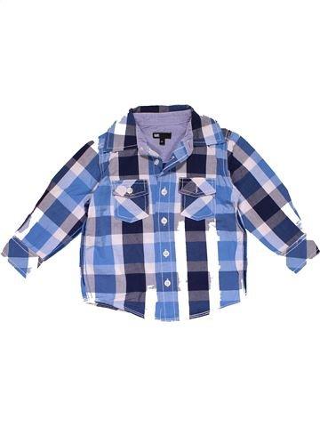 Long sleeve shirt boy WED'ZE blue 2 years summer #28265_1