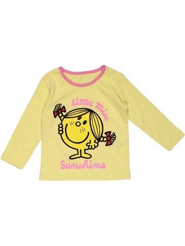 Long sleeve T-shirt girl NO BRAND beige 3 months summer #28308_1