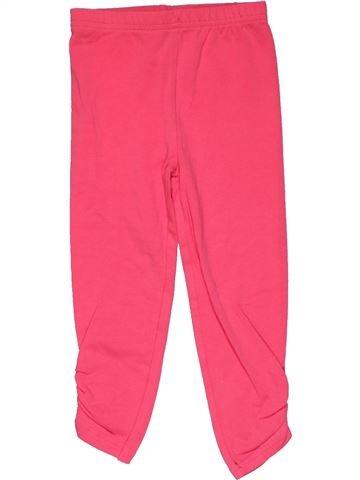 Leggings girl MATALAN pink 3 years summer #28311_1