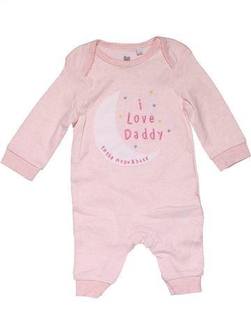 Long jumpsuit girl BLUEZOO pink 3 months winter #28373_1