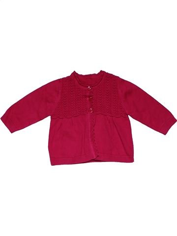 Sweatshirt girl GEORGE red 6 months winter #28388_1