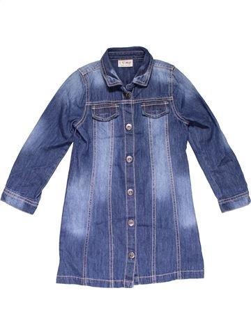 Long sleeve blouse girl NEXT blue 5 years summer #28407_1
