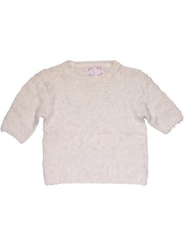 Jumper girl YD white 11 years winter #28485_1