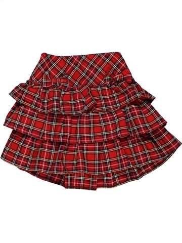 Skirt girl TU red 6 years summer #28565_1