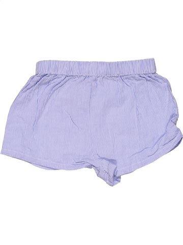 Short pants girl THE LITTLE WHITE COMPANY gray 18 months summer #28626_1