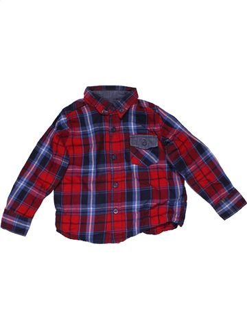 Long sleeve shirt boy MINOTI purple 18 months summer #28732_1