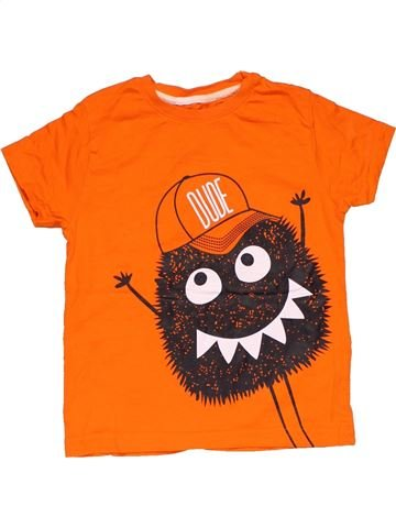 Short sleeve T-shirt boy PRIMARK orange 5 years summer #28737_1