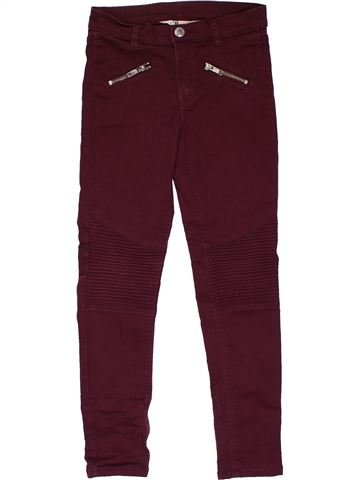 Trouser girl H&M brown 9 years winter #28768_1