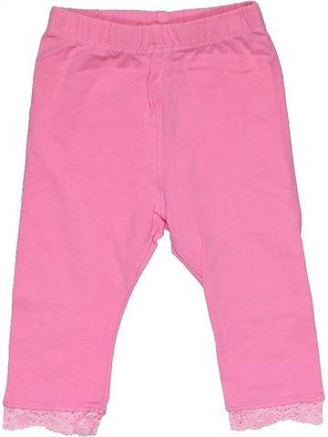 Leggings girl MINI CLUB pink 6 months summer #28775_1