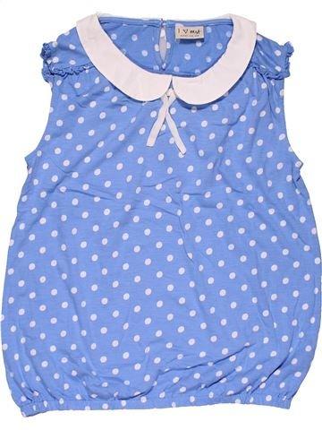 Short sleeve blouse girl NEXT blue 12 years summer #28797_1