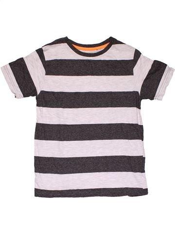 Short sleeve T-shirt boy REBEL white 10 years summer #28872_1