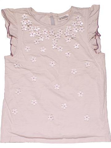 Short sleeve blouse girl SWEET MILLIE purple 8 years summer #28922_1