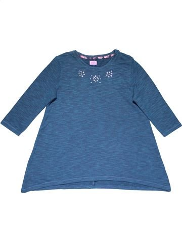 Long sleeve blouse girl F&F blue 11 years winter #28923_1