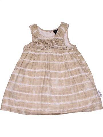Dress girl CALVIN KLEIN beige 18 months summer #28942_1