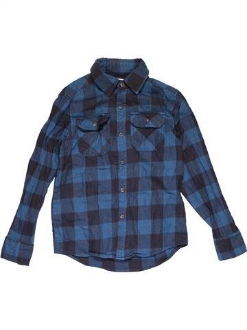 Long sleeve shirt boy PRIMARK blue 11 years winter #29158_1