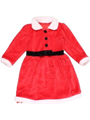 Costume girl MARKS & SPENCER red 2 years winter #29204_1