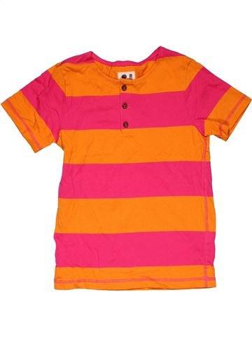 Short sleeve T-shirt boy NO BRAND red 8 years summer #29222_1