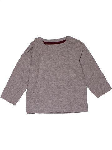 Long sleeve blouse unisex NO BRAND gray 18 months winter #29272_1