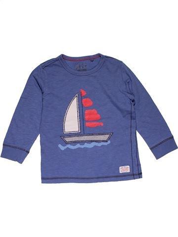 Long sleeve blouse boy NEXT purple 4 years winter #29289_1
