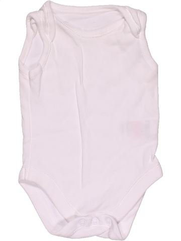 Short jumpsuit unisex MOTHERCARE white 1 month summer #29595_1