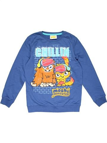 Sweatshirt boy SMITH&BROOKS blue 10 years winter #29668_1