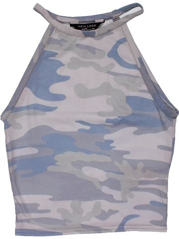 Tank Top girl NEW LOOK gray 11 years summer #29800_1