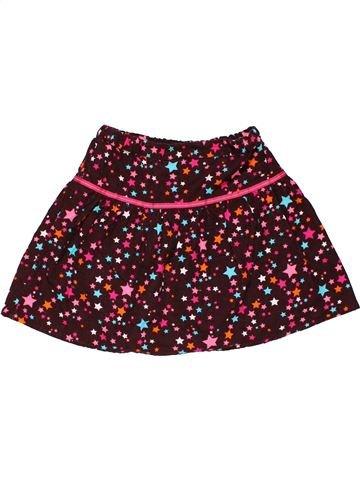 Skirt girl TOPOLINO brown 7 years summer #30016_1