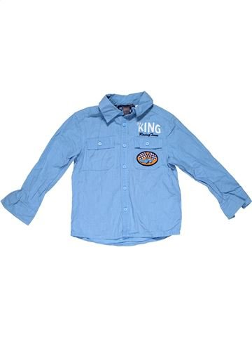 Long sleeve shirt boy H&M blue 5 years winter #30024_1