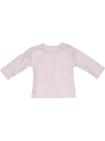 Long sleeve T-shirt unisex NO BRAND white new born winter #30027_1