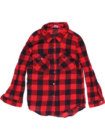 Long sleeve shirt boy YD red 10 years winter #30089_1