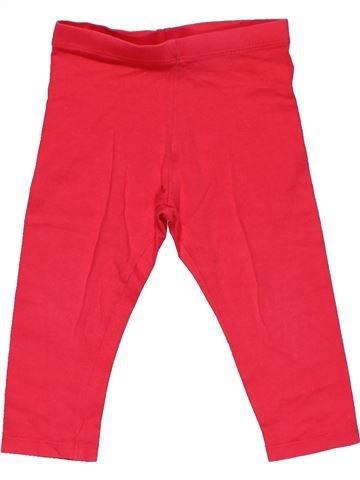 Leggings girl F&F red 12 months summer #30093_1