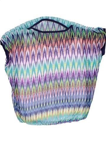 Short sleeve blouse girl A PUNTO blue 12 years summer #30296_1