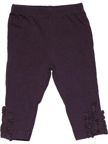 Trouser girl NUTMEG beige 6 months summer #30317_1