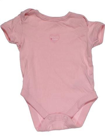 Short jumpsuit girl GEORGE pink 1 month summer #30426_1