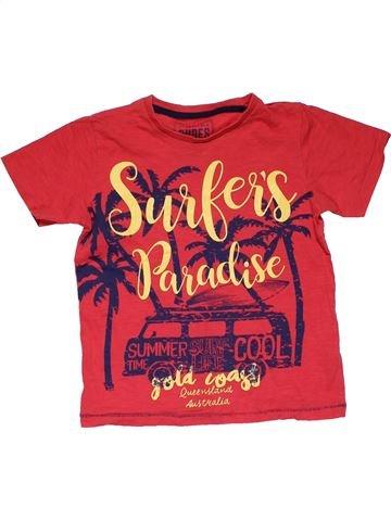 Short sleeve T-shirt boy MATALAN pink 6 years summer #31051_1