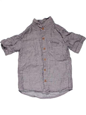 Short sleeve shirt boy NEXT gray 4 years summer #31085_1