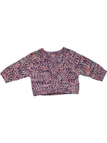 Sweatshirt girl F&F gray 1 month winter #31144_1