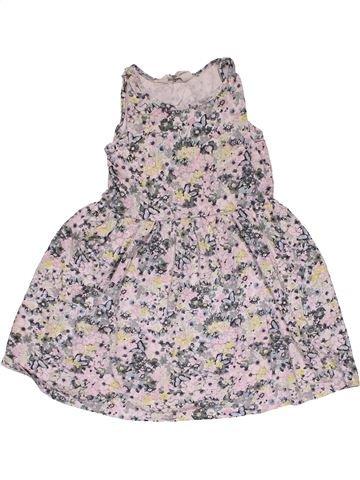 Dress girl H&M gray 6 years summer #31167_1