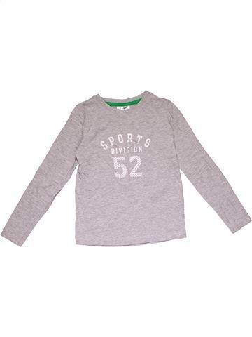 Long sleeve T-shirt boy ALIVE gray 8 years winter #31247_1
