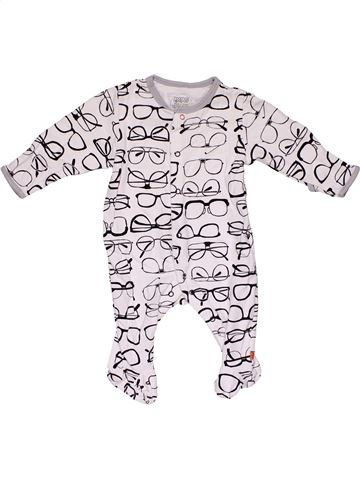 Long jumpsuit boy MAMAS & PAPAS white new born winter #31257_1