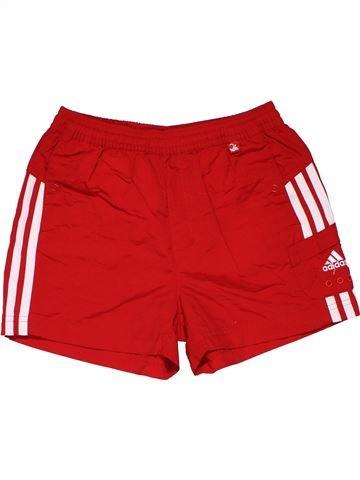 Short pants boy ADIDAS red 8 years summer #31359_1