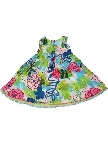 Dress girl CATIMINI white 2 years summer #31446_1