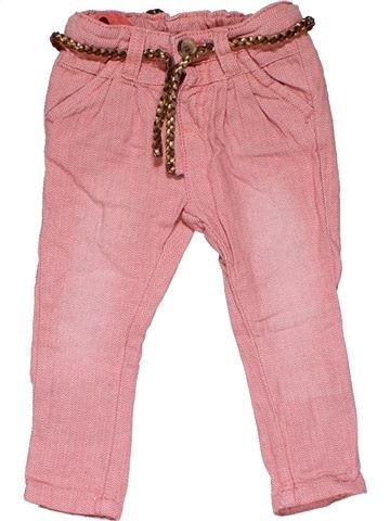 Trouser girl HEMA pink 6 months summer #31454_1