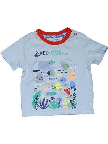Short sleeve T-shirt boy TU blue 12 months summer #31458_1